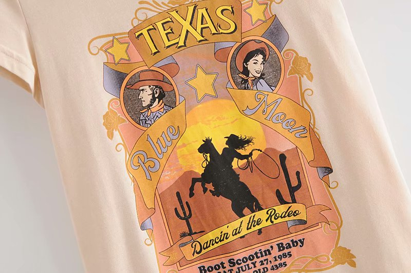 Dancin' at the Rodeo Vintage Tee