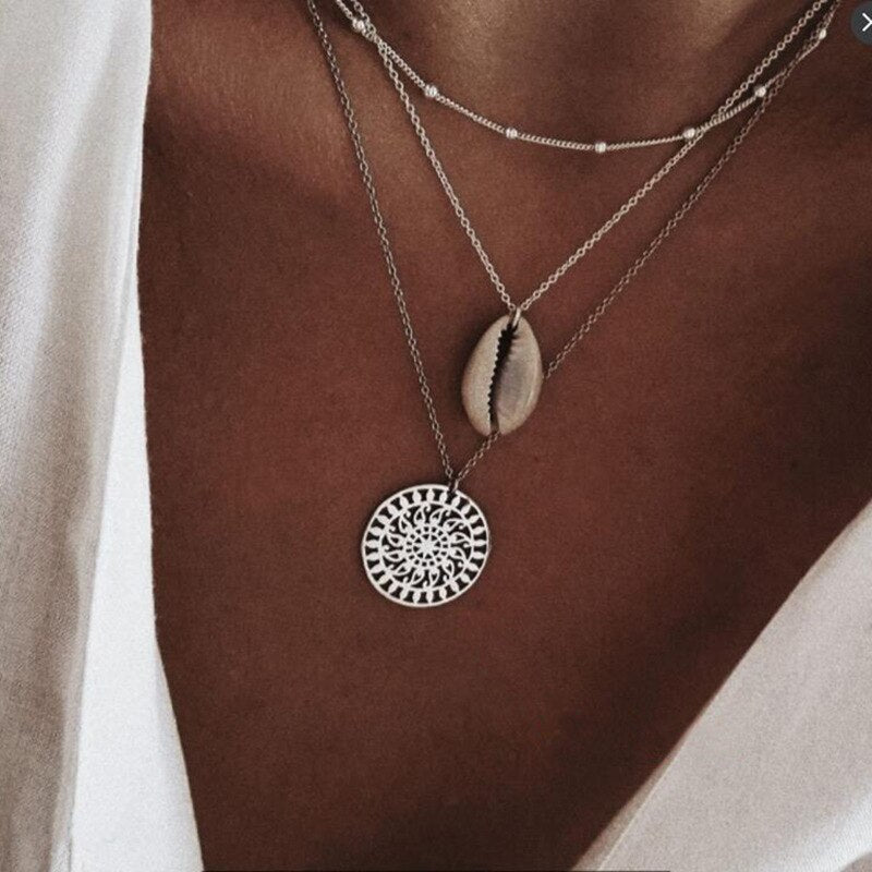 Bohemian Shell Necklace
