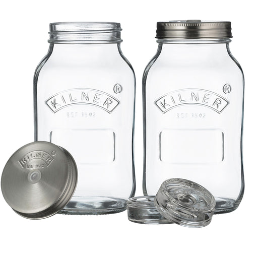 FERMENTATION JAR 1L SET OF 2