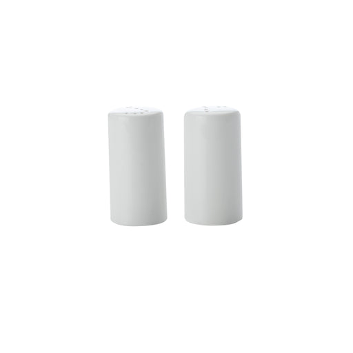 WHITE BASICS CYLINDRICAL SALT AND PEPPER