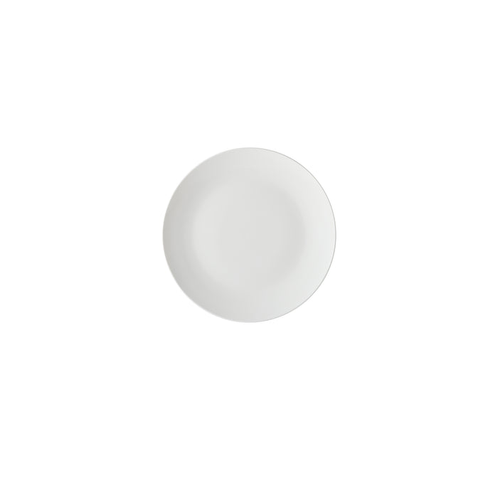 WHITE BASICS COUPE SIDE PLATE 19CM