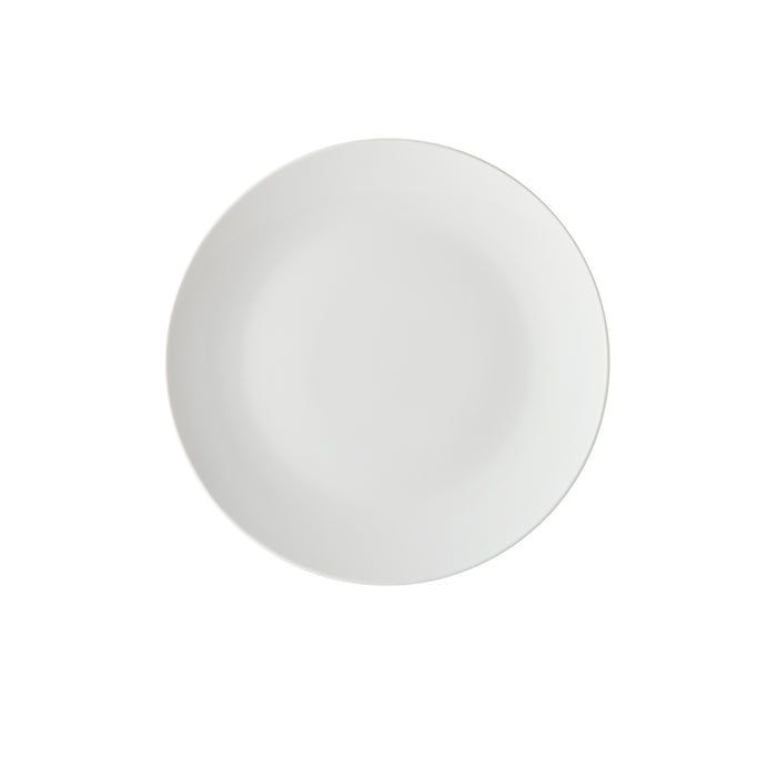 WHITE BASICS COUPE DINNER PLATE 27.5CM