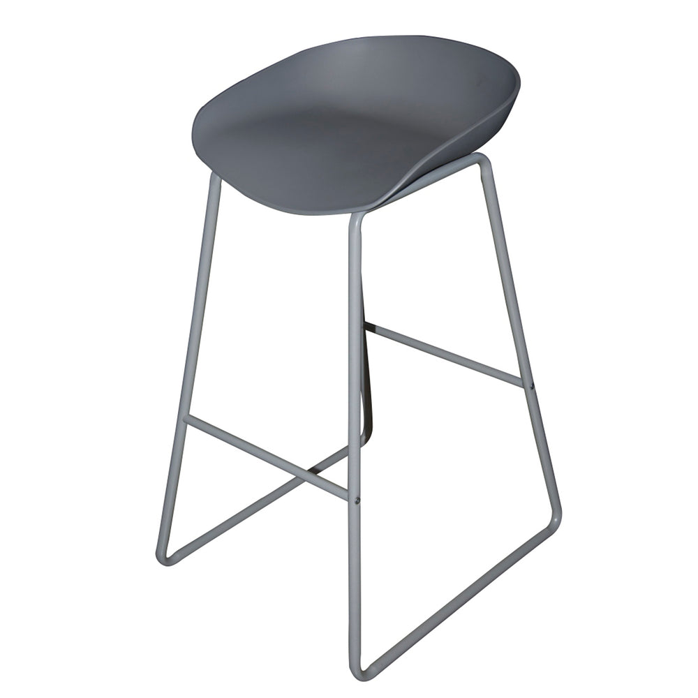 CAZBAH STOOL GREY