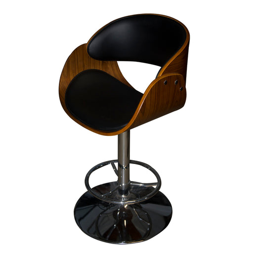 RAY BLACK BAR STOOL