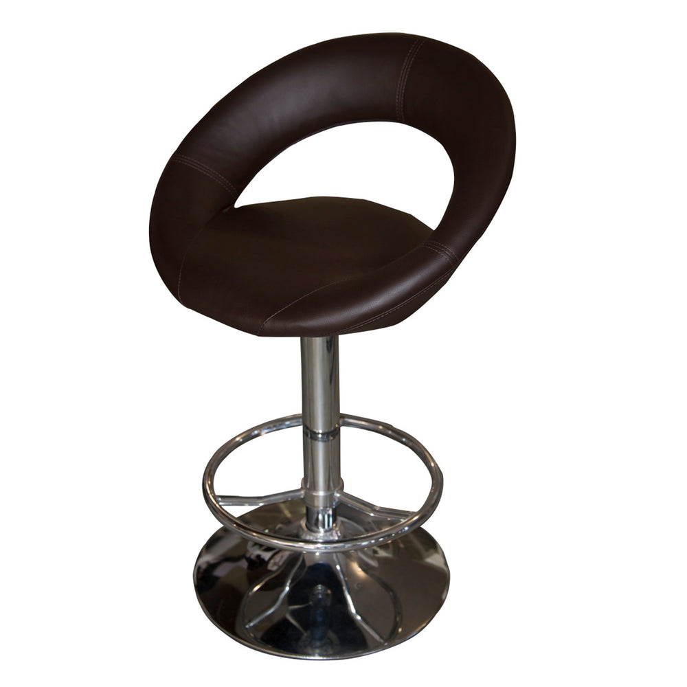 SHIELD STOOL BROWN