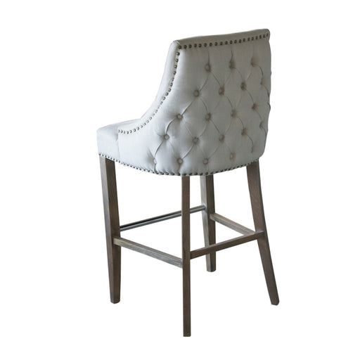 CHATEAU LINEN STOOL