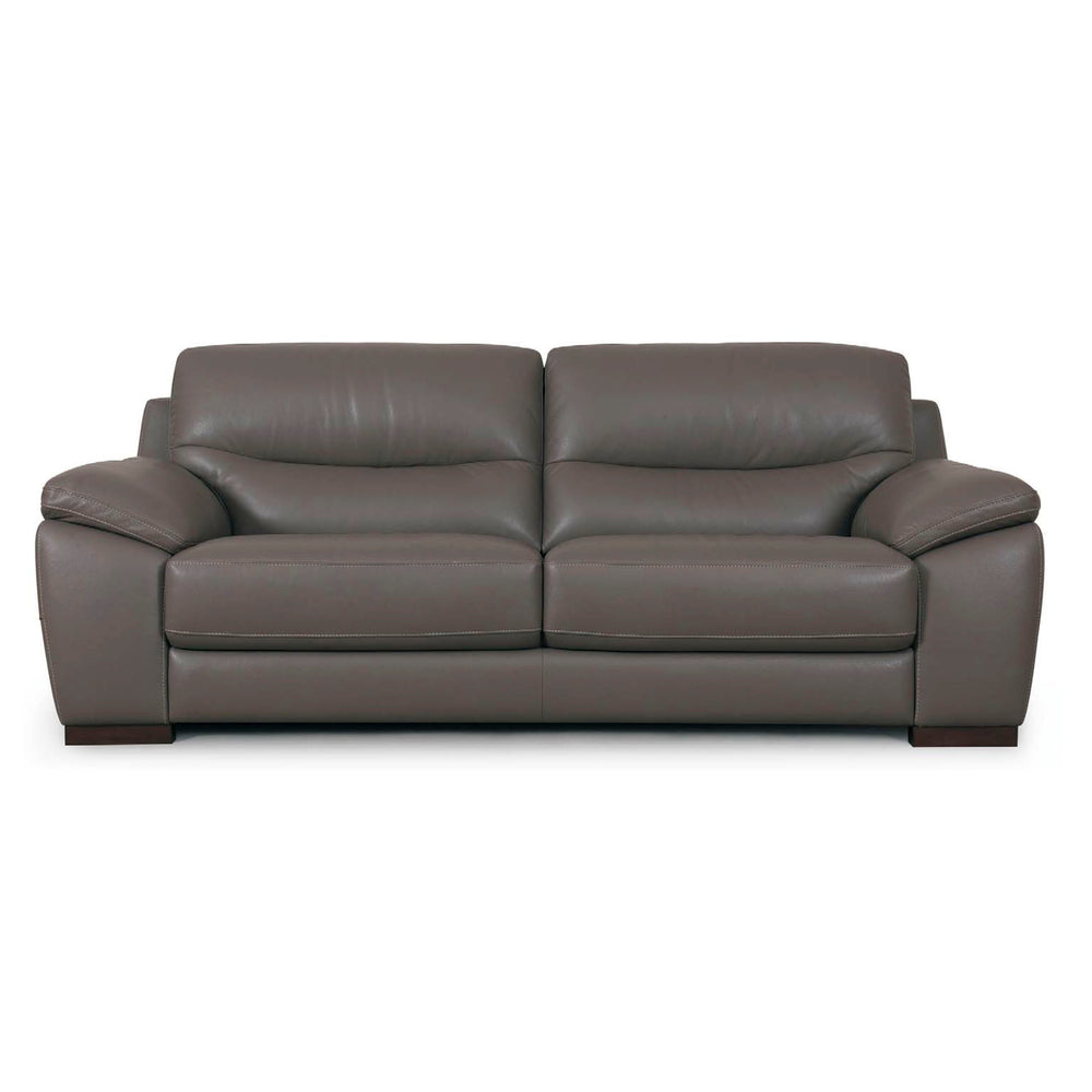 CALASPARRA LEATHER 3 SEATER