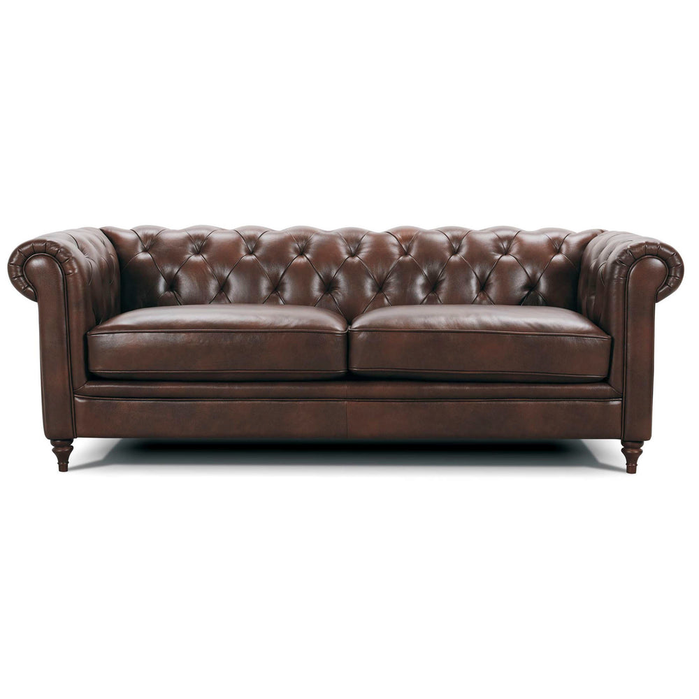 WINSTON LEATHER 3 SEATER