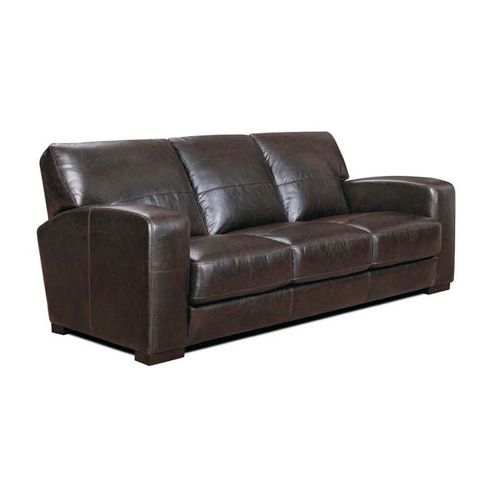 BELFAST LEATHER 3 SEATER