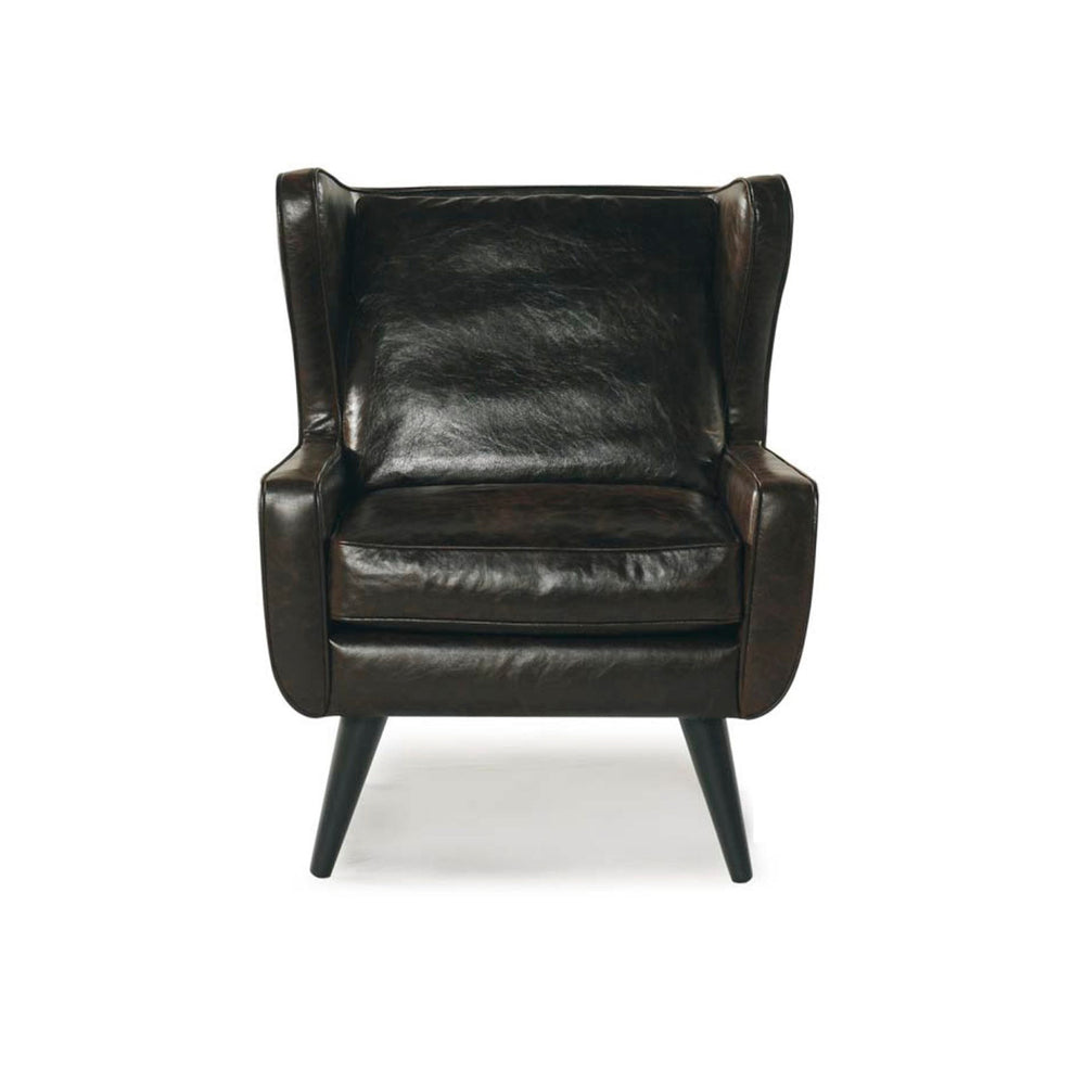 DENTON LEATHER ARM CHAIR