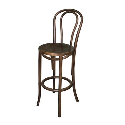 REPLICA BENTWOOD STOOL WALNUT