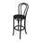 REPLICA BENTWOOD STOOL ANTIQUE BLACK