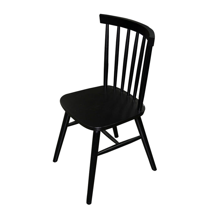 FARM HOUSE BLACK CHAIR