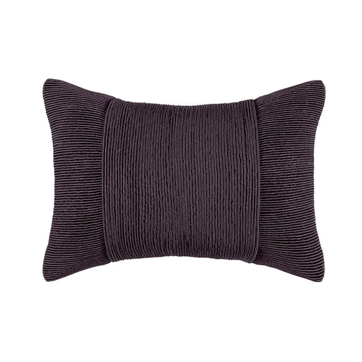 TUXEDO CHARCOAL RECTANGLE CUSHION