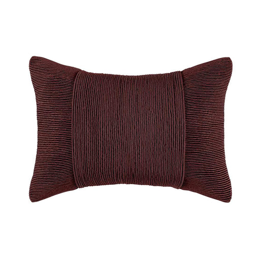 TUXEDO CHOCOLATE RECTANGLE CUSHION