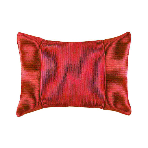 TUXEDO CLARET RECTANGLE CUSHION