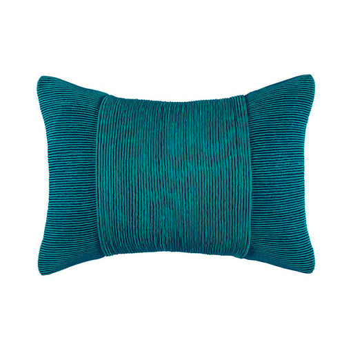 TUXEDO PEACOCK RECTANGLE CUSHION