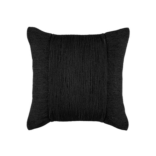 TUXEDO BLACK SQUARE CUSHION