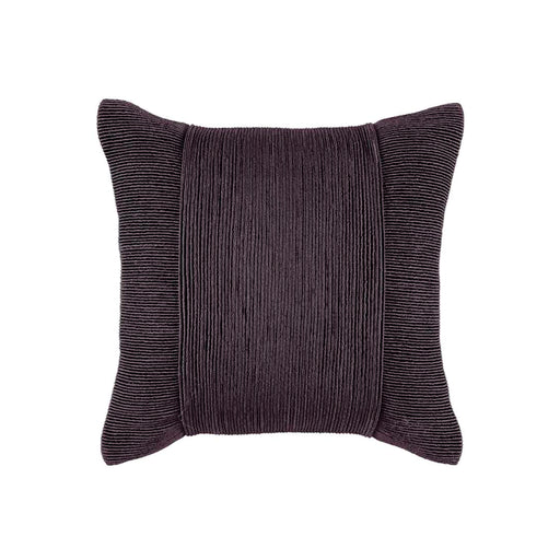 TUXEDO CHARCOAL SQUARE CUSHION