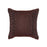 TUXEDO CHOCOLATE SQUARE CUSHION