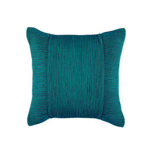 TUXEDO PEACOCK SQUARE CUSHION