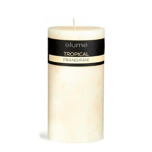 TROPICAL FRANGIPANI 3x6 CANDLE