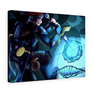 SneegSnag Fight Canvas Wrap