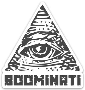 SMPEarth Voiceoverpete Boominati Sticker