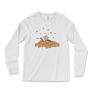 ReeKid Pizza Rolls Long Sleeve Tee