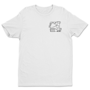 SMPEarth Chest Line Art Tee