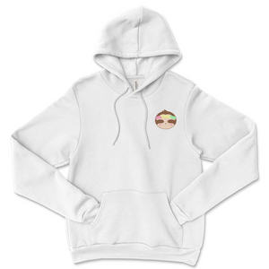 Trippy Embroidered Sloth Hoodie