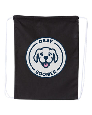 SneegSnag Okay Boomer Drawstring Bag