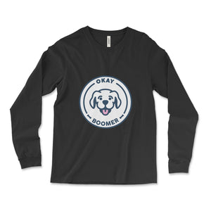 SneegSnag Okay Boomer Long Sleeve Tee
