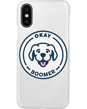 Sneegsnag Okay Boomer Phone Case