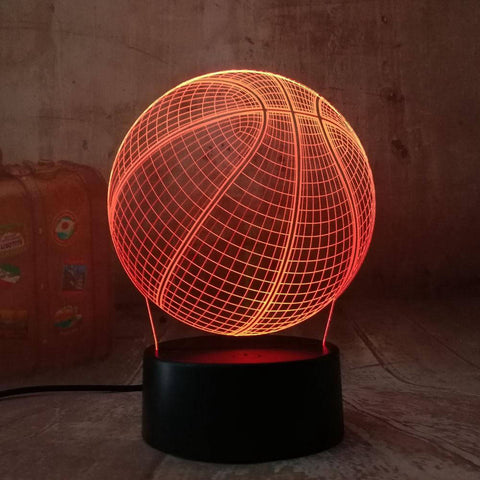 Lampe 3d basketball - Torche-Astro