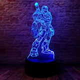 lampe 3d marvel - iron man infinity war - Torche-Astro