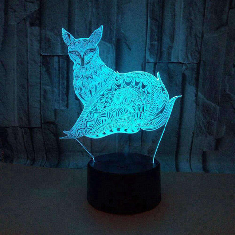 lampe 3d animaux - chat art design - Torche-Astro