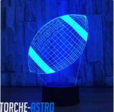 Lampe 3d rugby - Torche-Astro