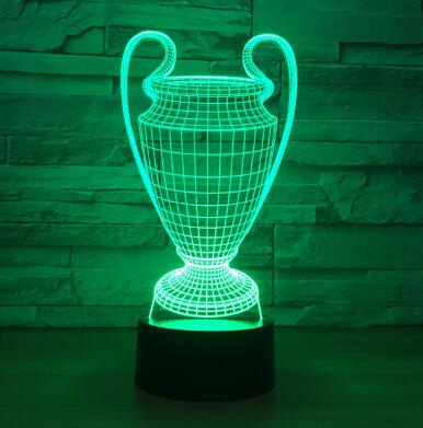 Lampe 3d football - Champions league - Torche-Astro