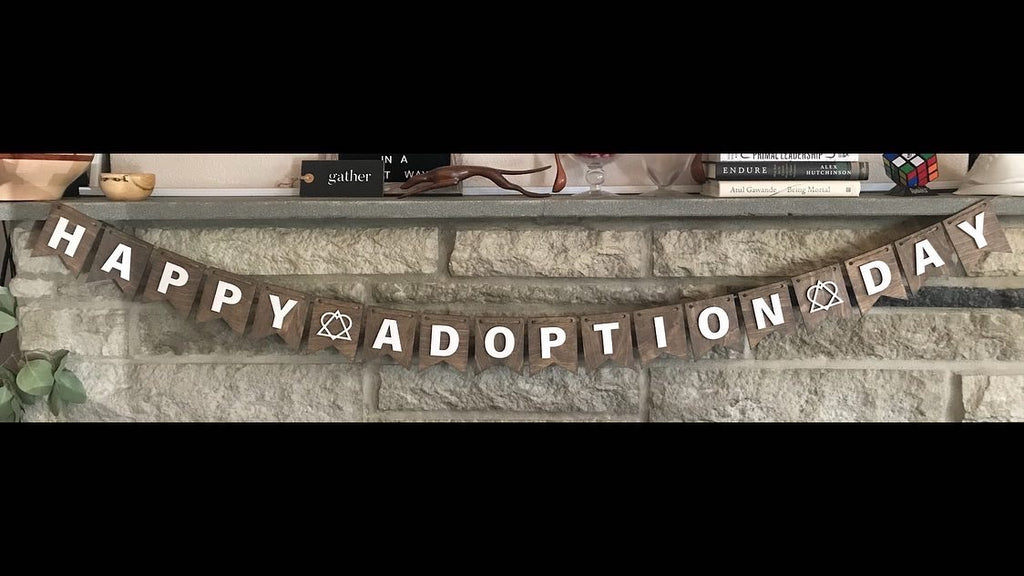 Happy Adoption Day Banner