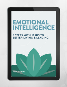 Emotional Intelligence: 5 Steps with Jesus to Better Living & Leading Digital Book