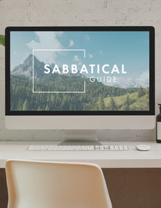 Sabbatical Guide Online Course