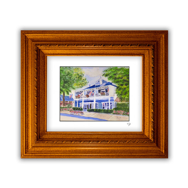 Dennis King's Giclée Print of The Main Inn