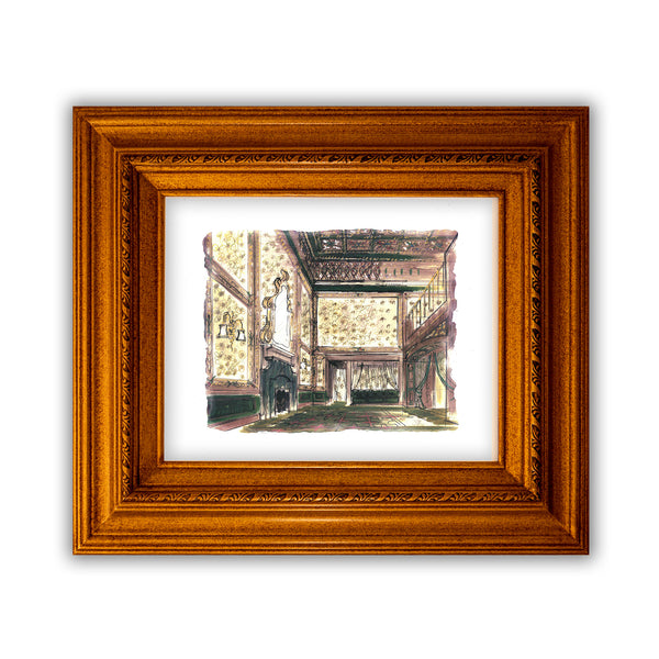 The Lobby Giclée Print by Joyce Evans