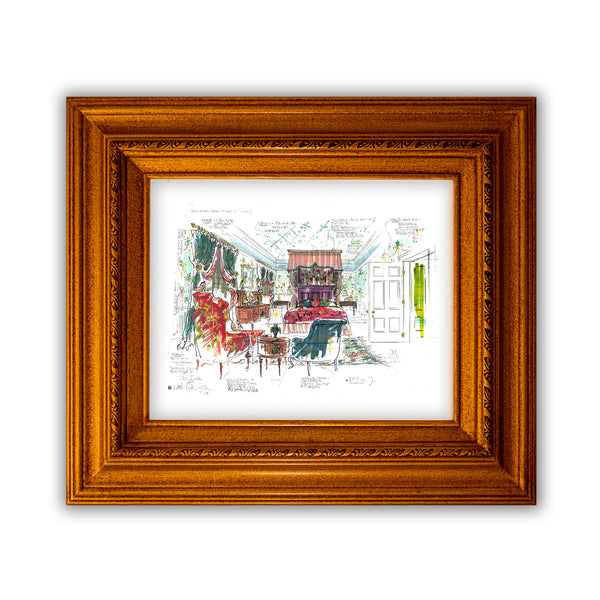 The Daniel Boulud Suite # 7 Giclée Print by Joyce Evans
