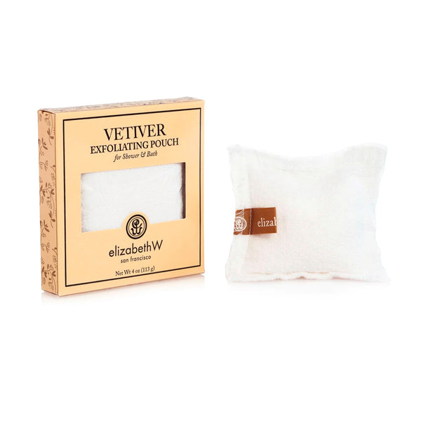 Vetiver Exfoliating Pouch