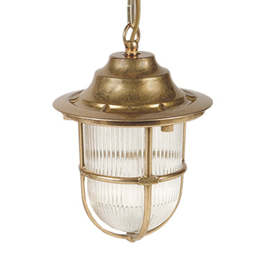 Solid Metal Pier Style Pendant Lights