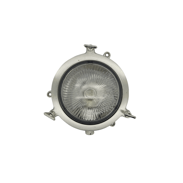 Solid Metal Mini Nautical Porthole Style Light with Traditional Glass