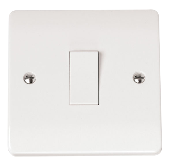 CLICK MODE 1-GANG 1-WAY 10A PLATE SWITCH