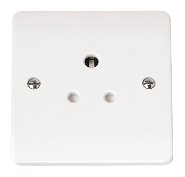 CLICK MODE 1-GANG 5A ROUND PIN SOCKET OUTLET
